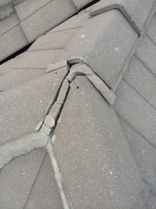 Roof repair mortar